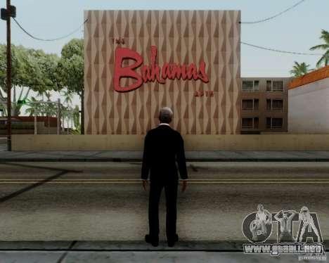 Morgan Freeman para GTA San Andreas sucesivamente de pantalla
