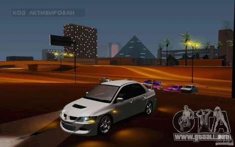 Mitsubishi Lancer Evo VIII GSR para GTA San Andreas