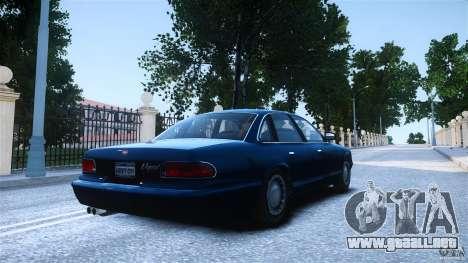 Civilian Taxi - Police - Noose Cruiser para GTA 4 left