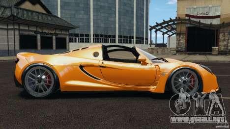Hennessey Venom GT Spyder para GTA 4 left