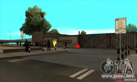Renovación de autoescuelas en San Fierro V 2.0 F para GTA San Andreas sucesivamente de pantalla