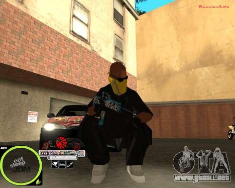 Weapon Pack by Alberto para GTA San Andreas tercera pantalla