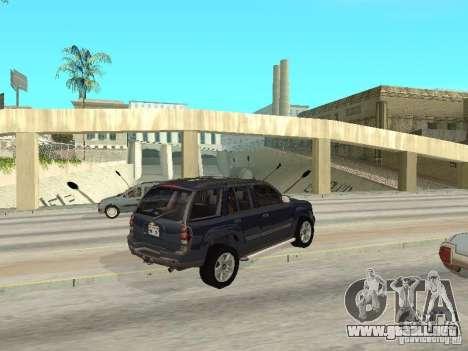Chevrolet TrailBlazer 2003 para la visión correcta GTA San Andreas