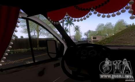 GAZ 3302 negocios para la visión correcta GTA San Andreas