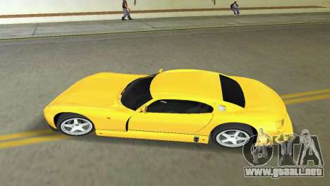 TVR Cerbera Speed 12 para GTA Vice City vista lateral izquierdo