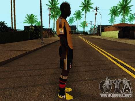 Mario Balotelli v3 para GTA San Andreas segunda pantalla