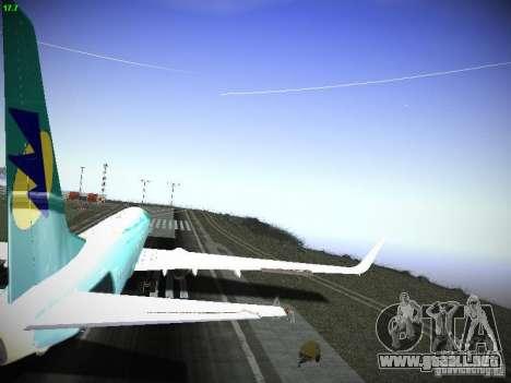 Boeing 737-84R AeroSvit Ukrainian Airlines para visión interna GTA San Andreas