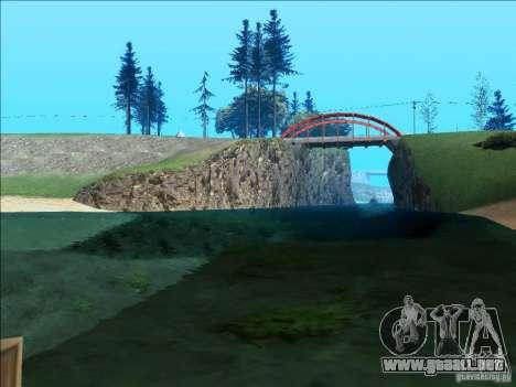 ENBSeries v1.1 para GTA San Andreas quinta pantalla