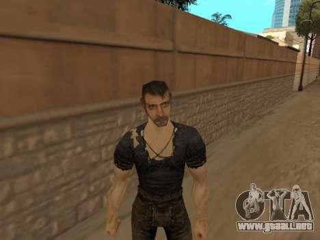 Pak pieles de Gothic 1 para GTA San Andreas sucesivamente de pantalla
