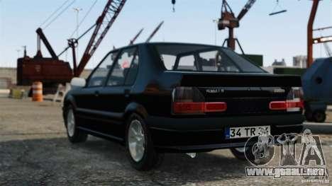 Renault 19 RL para GTA 4 left