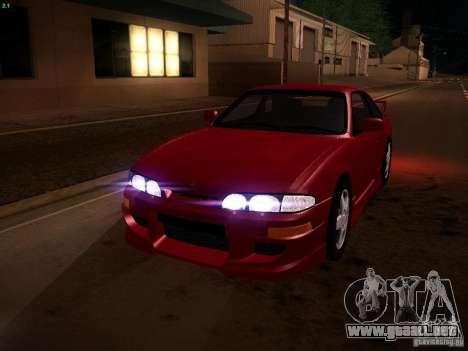 Nissan Silvia S14 Ks Sporty 1994 para vista inferior GTA San Andreas