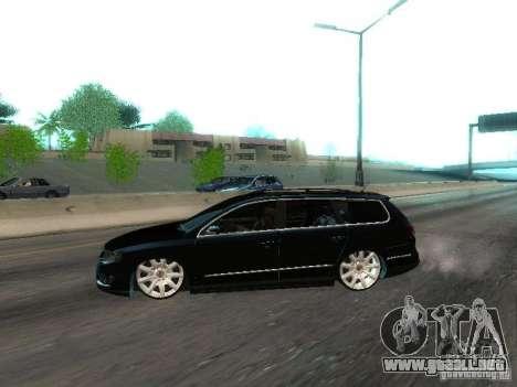 Volkswagen Passat B6 Variant Com Bentley 20 Fixa para GTA San Andreas left