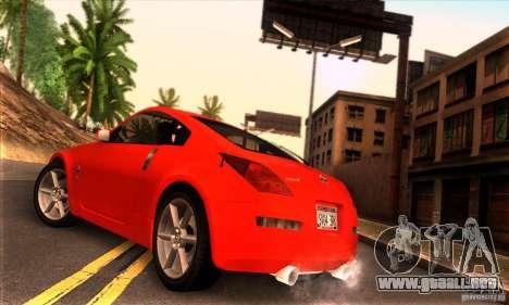 Nissan 350Z Tunable para GTA San Andreas left