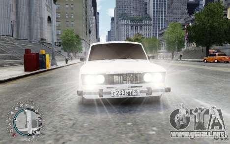 VAZ 2106 para GTA 4 Vista posterior izquierda