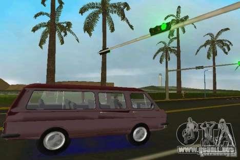 RAF 2203 para GTA Vice City visión correcta