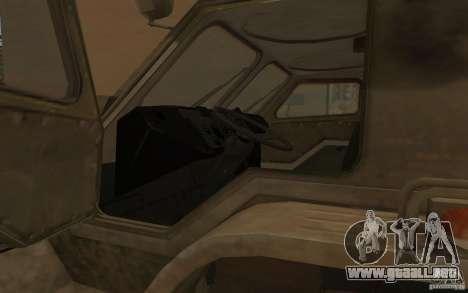GAS-3937 Vodnik para visión interna GTA San Andreas