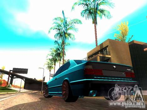 BMW 535i E34 para GTA San Andreas left