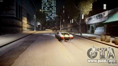 Dukes City-Drag para GTA 4 vista superior