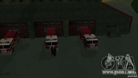 Estación de fuego de avivamiento en San Fierro v para GTA San Andreas quinta pantalla
