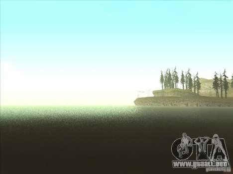 ENBSeries v1.0 para GTA San Andreas quinta pantalla