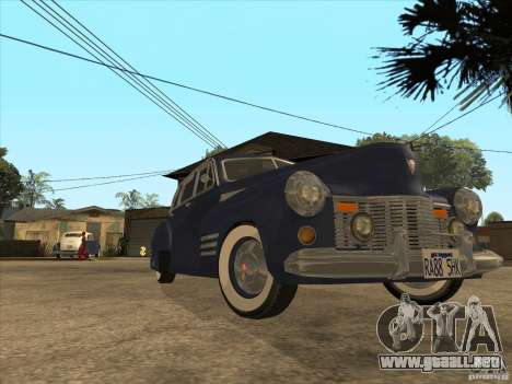 Cadillac 61 1941 para la visión correcta GTA San Andreas