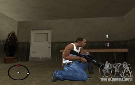 AK-103 para GTA San Andreas tercera pantalla