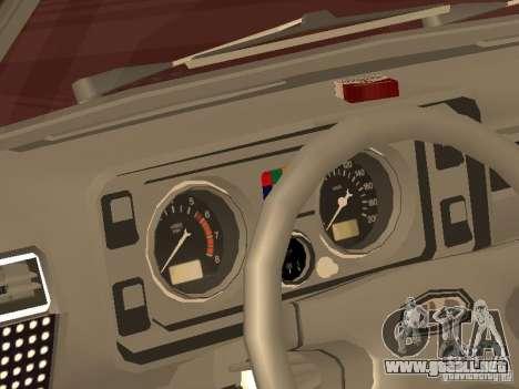 VAZ 2104 v. 2 para la visión correcta GTA San Andreas