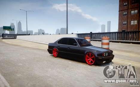 BMW 535i para GTA 4 left