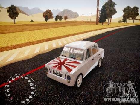 Edición de VAZ-2101 Drift para GTA 4 left