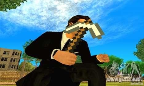 Escoger el juego Minecraft para GTA San Andreas segunda pantalla