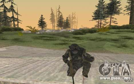 Seals soldier from BO2 para GTA San Andreas tercera pantalla