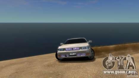 Toyota Chaser x90 para GTA 4 visión correcta