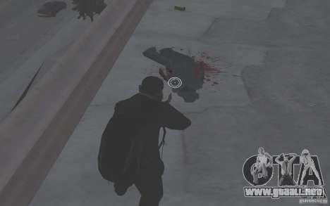 Animar el cuerpo del GTA IV para GTA San Andreas segunda pantalla