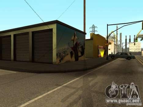 Cartel de GTA 5 para GTA San Andreas quinta pantalla