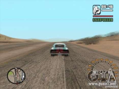 Velocímetro clásico para GTA San Andreas
