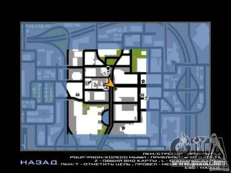 Club para GTA San Andreas quinta pantalla