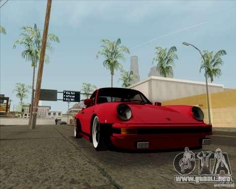 Porsche 911 Turbo para la visión correcta GTA San Andreas