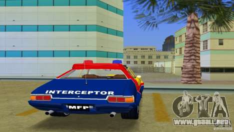 Ford Falcon 351 GT Interceptor para GTA Vice City vista posterior
