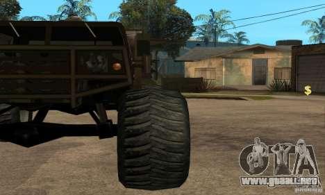 Monster Patriot para la visión correcta GTA San Andreas