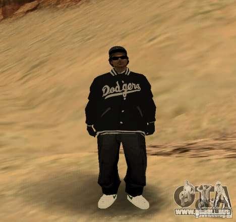 Piel Ryder para GTA San Andreas