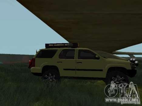 Chevrolet Tahoe Off Road para GTA San Andreas left