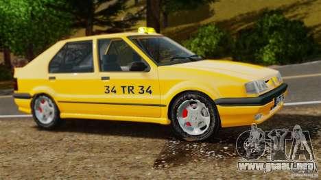 Taxi Renault 19 para GTA 4 left