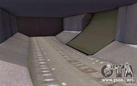Airbus A-319 Azerbaijan Airlines para visión interna GTA San Andreas