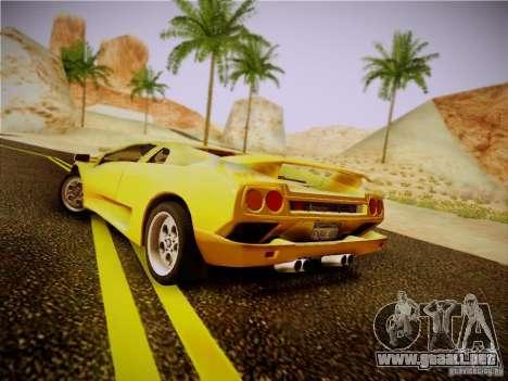 Lamborghini Diablo VT 1994 para la visión correcta GTA San Andreas