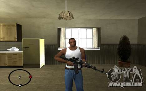 AK-103 para GTA San Andreas segunda pantalla