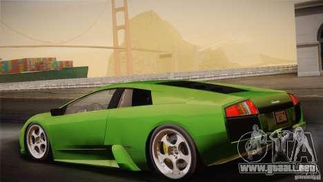 Lamborghini Murcielago 2002 v 1.0 para vista inferior GTA San Andreas