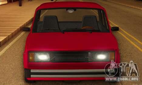 VAZ 2105 pastel de cereza para la visión correcta GTA San Andreas