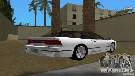 Nissan 200SX para GTA Vice City vista lateral izquierdo