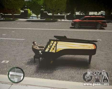 Crazy Piano para GTA 4 left