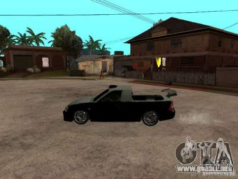 Lada Priora Pickup para GTA San Andreas left